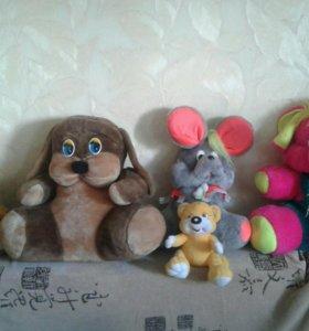 Мягкие игрушки в дар