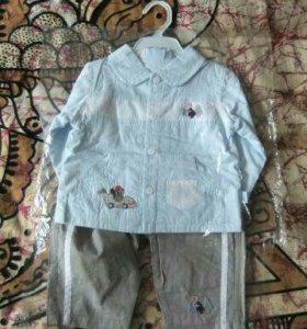Новый костюм (рубашка, брюки)