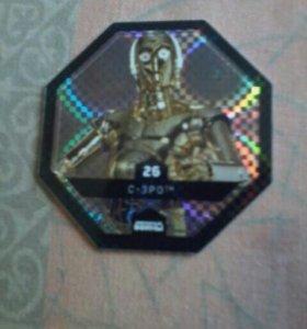 Космо-жетон Star Wars.