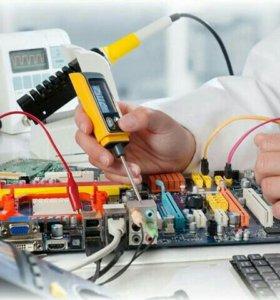 Ремонт компьютеров и оборудования