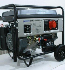 Бензогенератор 6кВт DeMark DMG7500FE-3 (3х фазный)