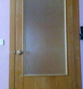 Межкомнатные двери в отличном состоянии.