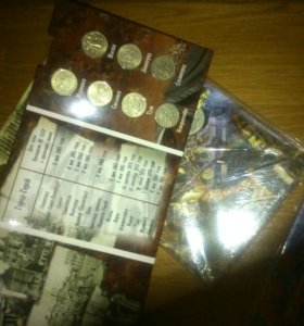 Монеты В Ярких Альбомах