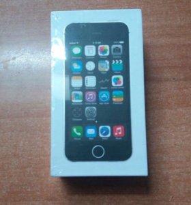 IPhone 5s 16gb Space Grey Новый