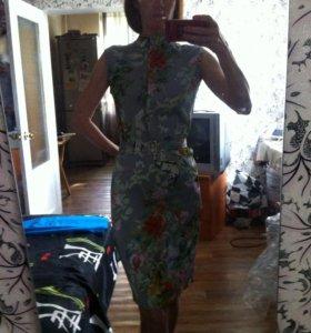 Платье Вечернее  новое , нат шелк ,не Китай!