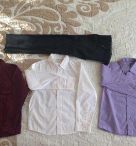 Рубашки и брюки р.122