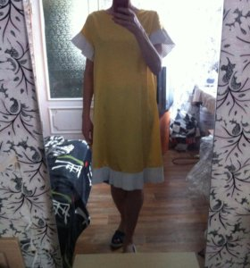 Платье Zara летнее шелк
