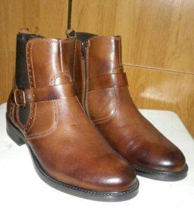Ботинки новые женские 37-38