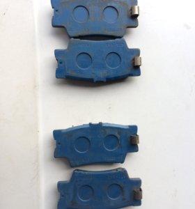 Комплект тормозных колодок зад TOYOTA RAV 4