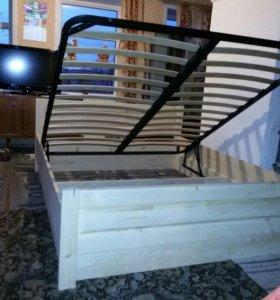 Кровать филенка с подъемным механизмом