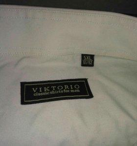 Рубашки 5XL с коротким рукавом