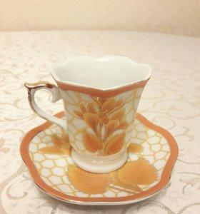 Кофейный набор. Новые чашки для кофе