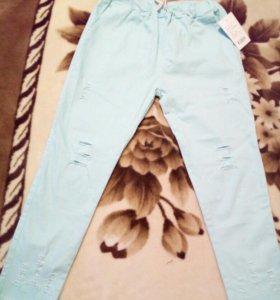 Джинсовые штаны новые 44-46