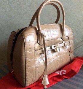 Новая Кожаная натуральная сумка