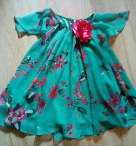 Нарядное платье ТМ Monsoon р.3-4г.