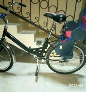 Велосипед и сиденье