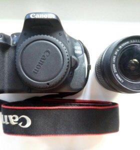 Почти новый Canon EOS 600D kit + 16GB Карта