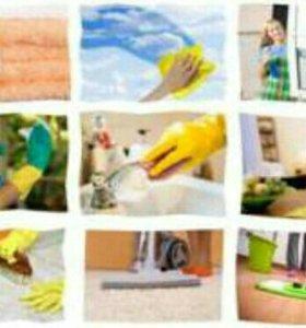 Уборка домов и квартир.