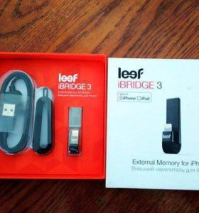 USB накопитель для IPhone Leef Bridge 64GB