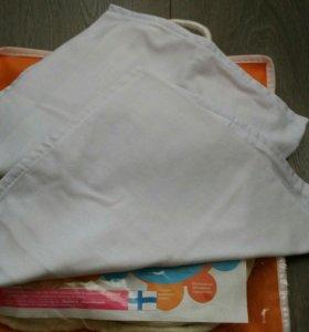 Подушка с эффектом памяти для новорожденных
