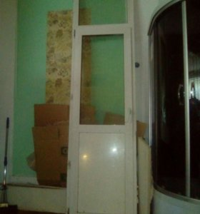 Евро окно и дверь балконная