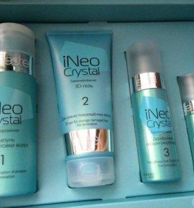 Набор для ламинирование волос ineo-crystal