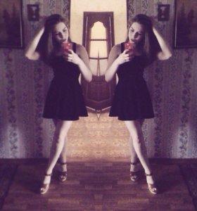 Чёрное платье от H&M