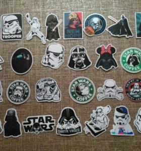 Наклейки Star wars