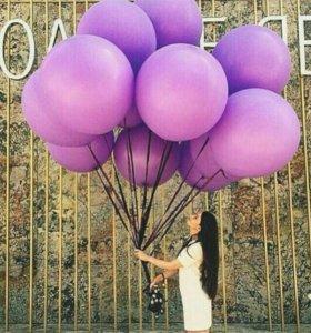 Гелиевые, воздушные, фольгированные шарики