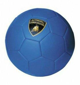 Синий мяч Lamborghini для футбола
