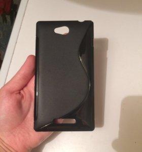 Новый чехол для Sony Xperia c2305