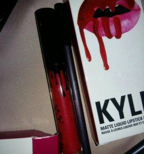 Кайли помада с карандашом