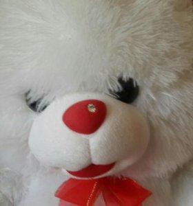 Медведь с бусиной на носу