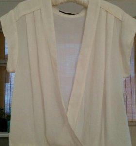 Блузка рубашка ZARA новая S