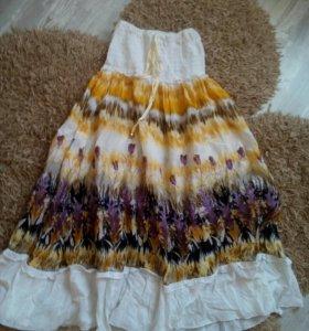 Летний сарафан, юбка
