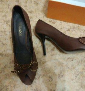туфли новые натуральная кожа 39 размер