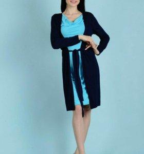 Новые платья с кардиганами