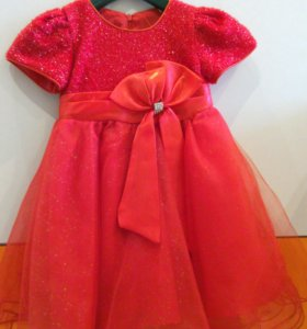 Пышное платье для маленькой принцессы