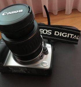 Зеркальный фотоаппарат Canon EOS 300d