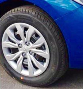 Новые колеса от Hyundai Solaris