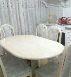 Современные и классическиестолы и стулья