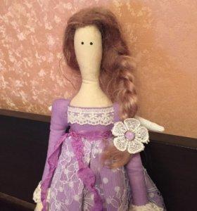 Кукла тильда ангел 65 см