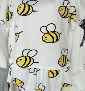 Костюм футболка + шорты