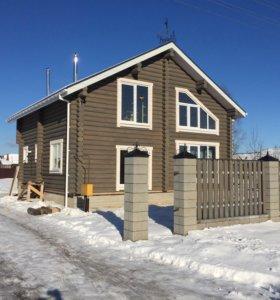 Отделка деревянных домов под ключ