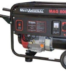 Бензиновый генератор MAG 8000 WM190F