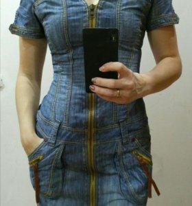 """Платье джинсовое. Фирма """"Bonny""""👍👍"""
