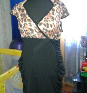 Эффектное платье р52-54👍