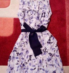 Платье шифон новое