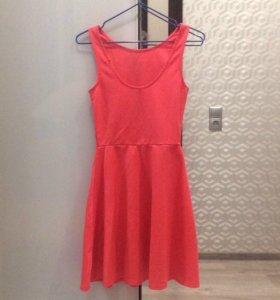 Платье цвета фламинго H&М