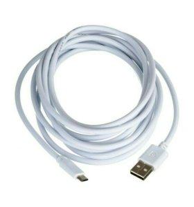 "USB Дата-кабель ""Belkin"" Micro USB 3 метра"